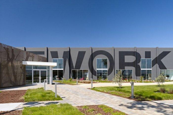 One workplace office architecture in Santa Clara, California
