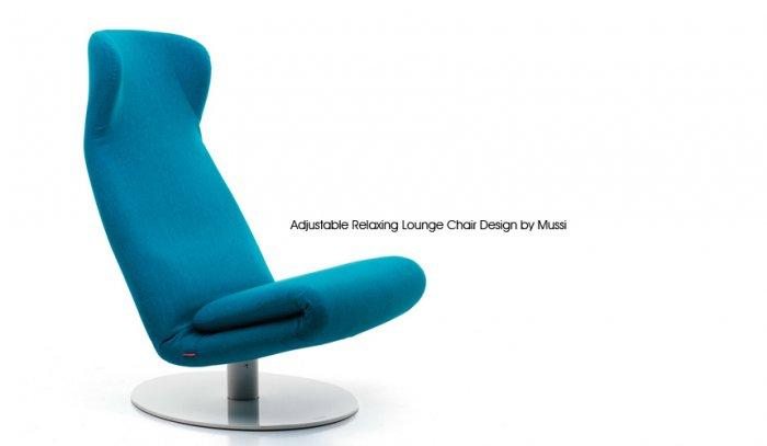 Relaxing Lounge Chair Design by Mussi