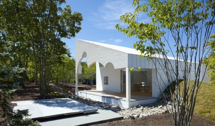 Residential Landscape Design of a House in Niigata, Japan