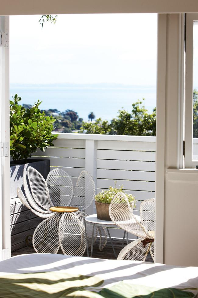 Seaside home terrace with nice view - Interior Design Decorating Tips and Ideas