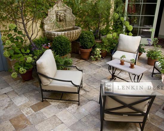 Lovely French Style Garden Design A Parisian Courtyard