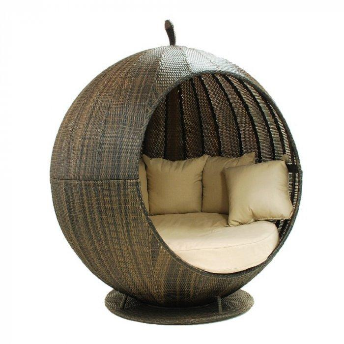 the apple daybed pod contemporary garden furniture and decoration ideas