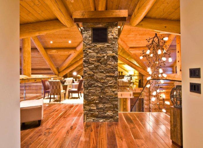 Traditional hall on the second floor in Eclectic Luxury Weekend Getaway nested in the Canada