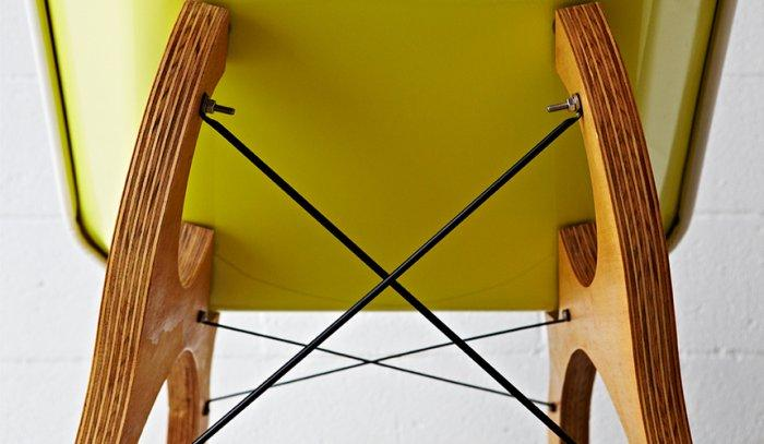 The Amazing Wheelbarrow Chair by Karl Sanford