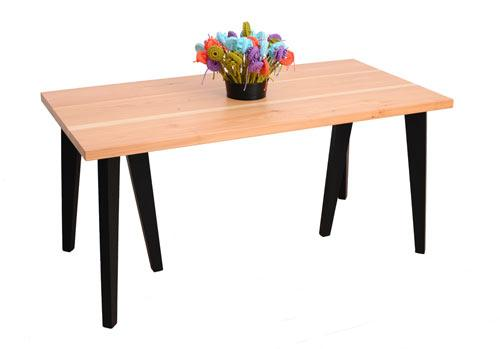 Wooden home table design - Cvetnoetno Furniture Collection