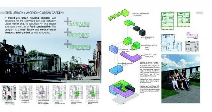 Danielle Krug - Seed Library + Ascending Urban Garden - Inside2013 Competition Award Winners