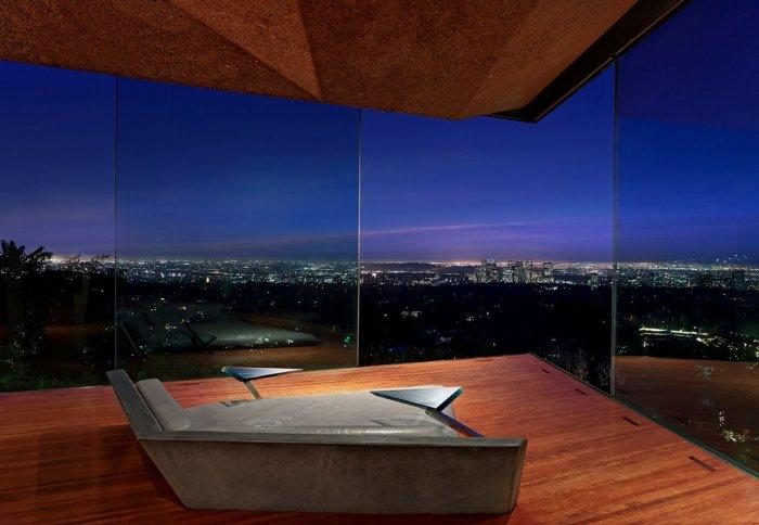 """Futuristic house by John Lautner in Southern California - Concept of Earth Living in """"Oblivion"""""""