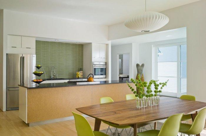 "Midcentury modern kitchen design - Concept of Earth Living in ""Oblivion"""