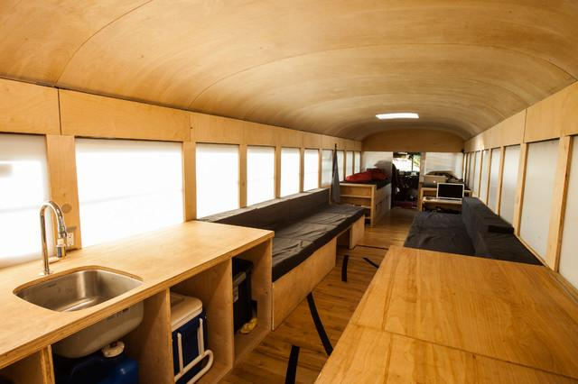 Modern holiday place on wheels by Hank Butitta