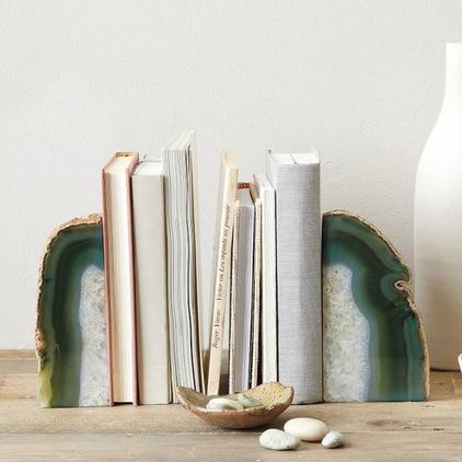 Agate Bookend - 20 Lovely Low-Cost Home Decor Accessories