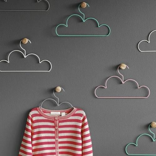 Cloud Coat Hangers - 20 Lovely Low-Cost Home Decor Accessories