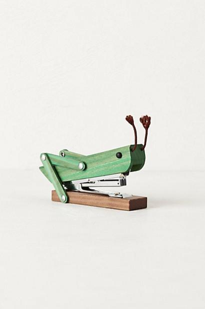Grasshopper Stapler - 20 Lovely Low-Cost Home Decor Accessories