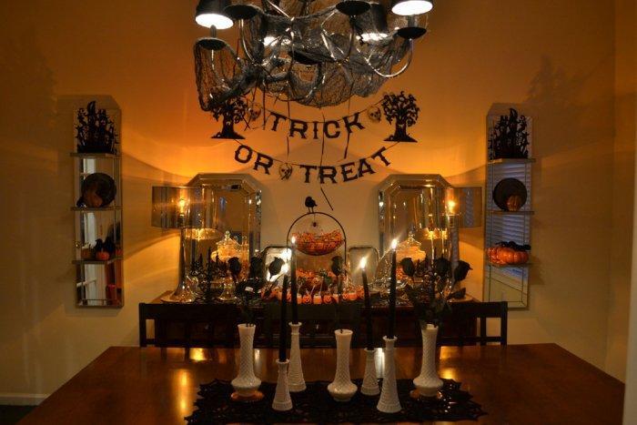 Halloween black home decor - 36 Ideas for Your Home