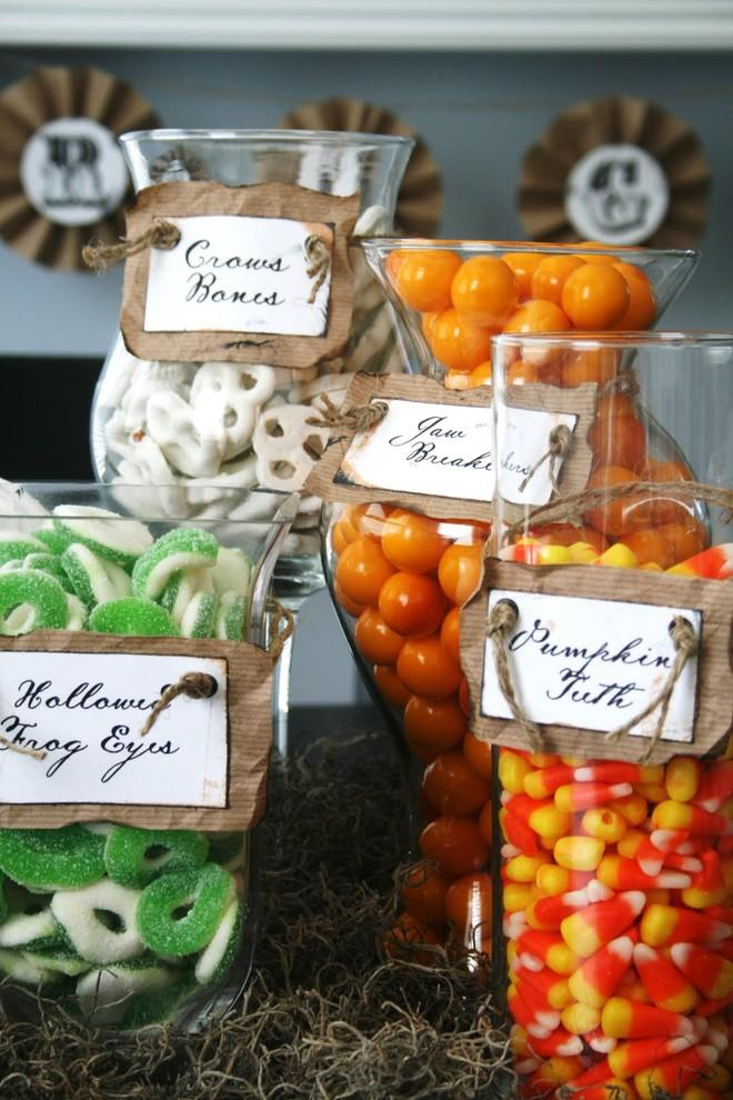 Halloween trays full of candies - 36 Ideas for Your Home