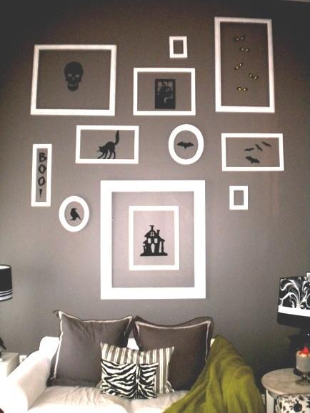 Halloween wall decorating ideas for living rooms - 36 Ideas for Your Home