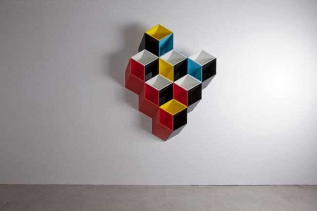 "Imeuble"" storage shelving construction by Bjørn Jørund Blikstad - Decorative Ideas for Small Apartments"