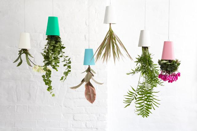 Recycled Sky Planter - 20 Lovely Low-Cost Home Decor Accessories