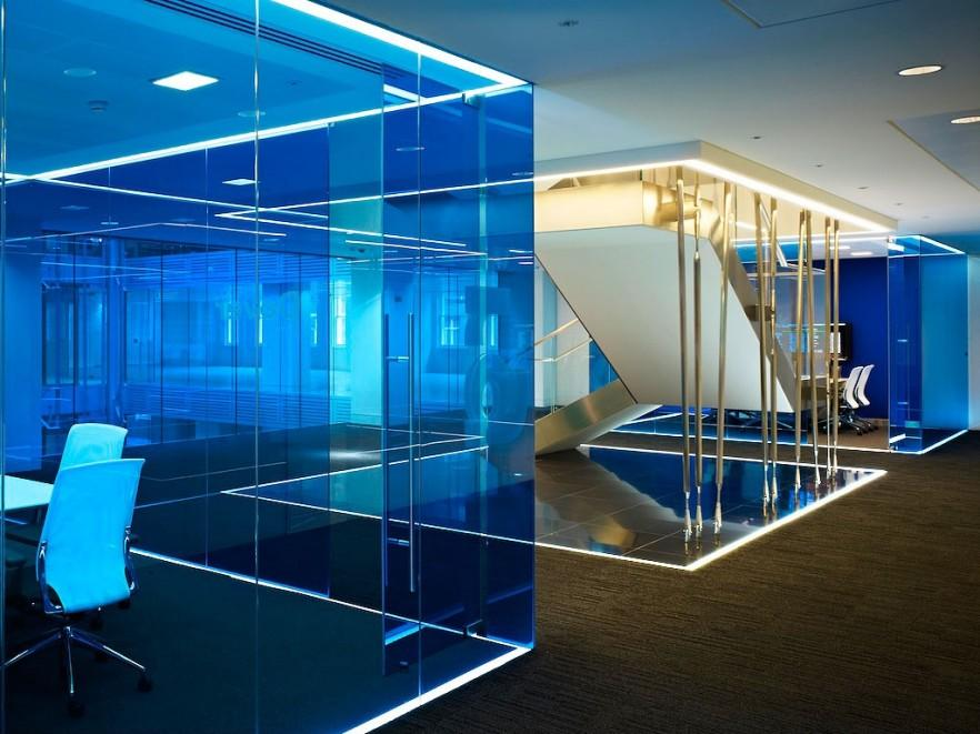 14 killer office interior design projects with images for Amazing office interior design