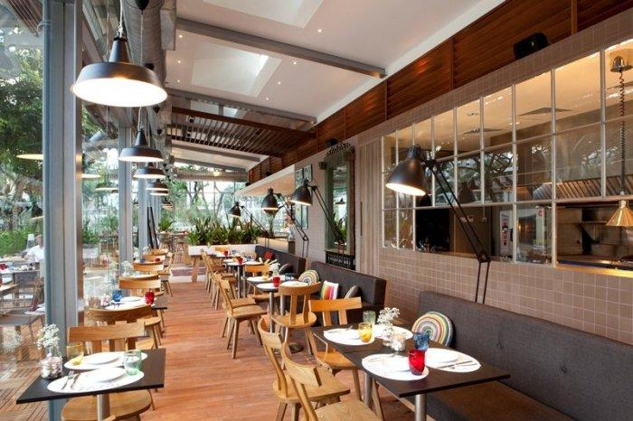 Attractive and friendly atmosphere in Café Melba by Designphase dba