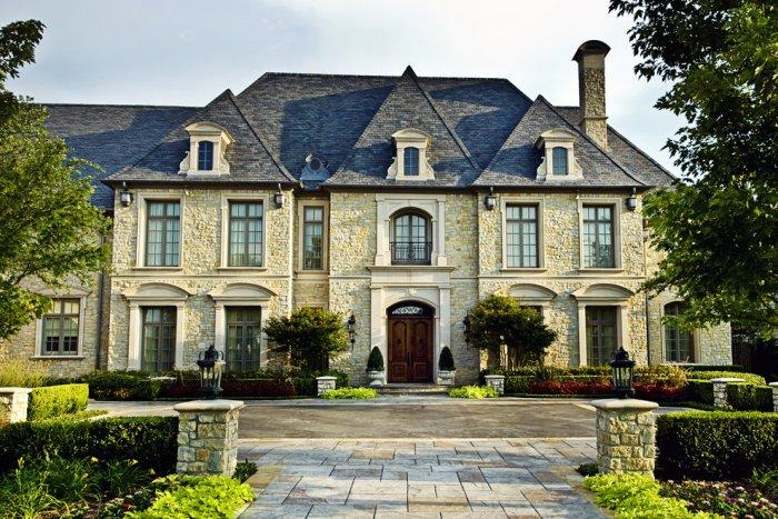 Contemporary luxury mansion - French Style Château Architecture - 14 Amazing Houses
