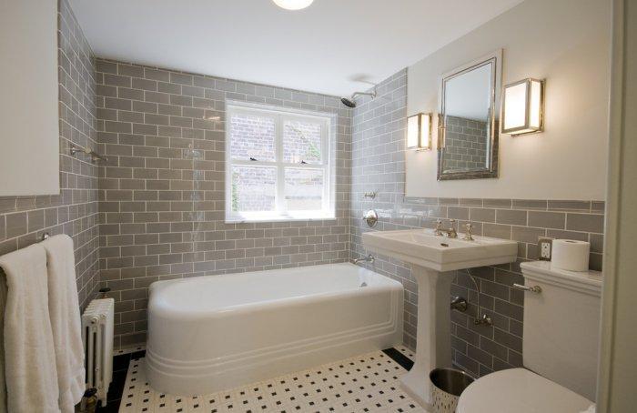 exclusive bathroom decorating ideas using tiles founterior