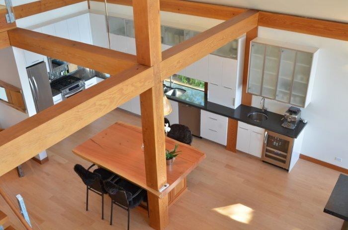 Kitchen View From Above : The dream coastal house with heavenly ocean views founterior