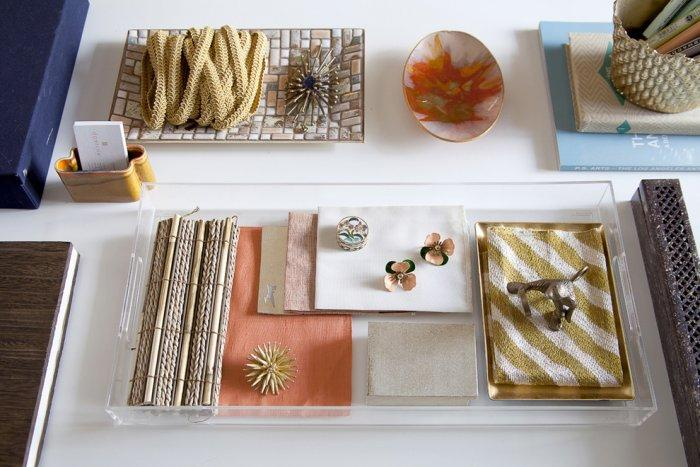 Home decoration ideas at the table - an Eclectic Home in OC