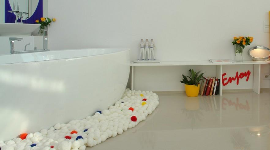 Joyful Interior Design of a Family Apartment in Budapest