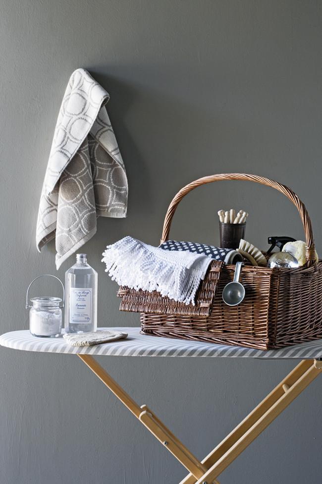 Laundry and ironing items storage basket - Fresh Home Decorating Ideas