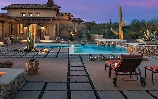 Luxury Rustic Family Desert House in Arizona