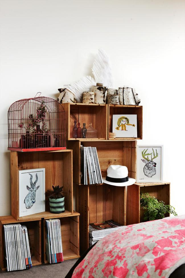 Modular flexi storage system of cabinets - Decorative Ideas for Small Apartments