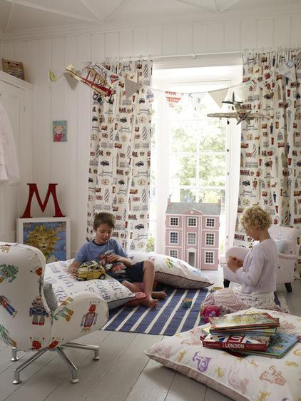 Pink dollhouse in kids room - Fresh Home Decorating Ideas
