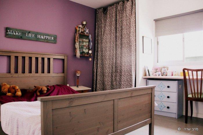 Teen bedroom in vintage style - Unique Eclectic Home Interior