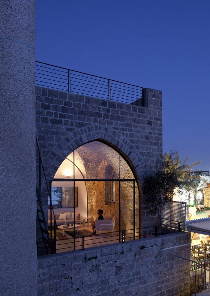 Spectacular Ancient Seaside Penthouse in Tel Aviv