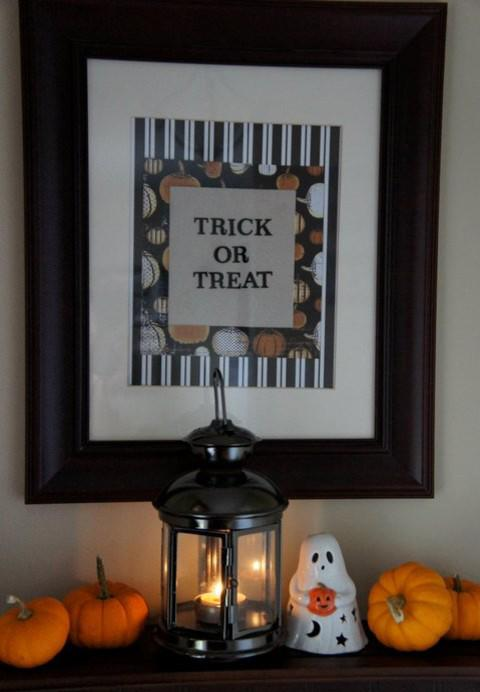 Trick or treat wall painting - 36 Ideas for Your Home