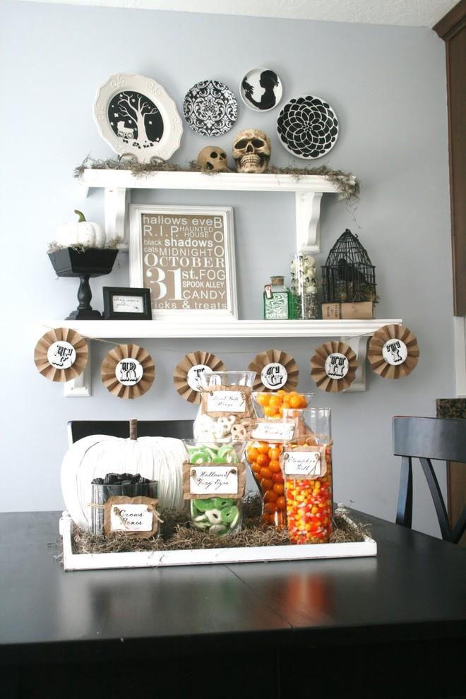 Wall decorating ideas with plate decals - 36 Ideas for Your Home