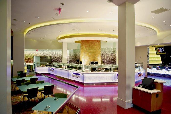 Bakery Station - Seneca Niagara Casino Renovations by SOSH Architects