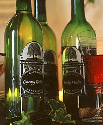 Creepy Wine Bottle Labels - 34 Ideas for Halloween Table Decorations - How To