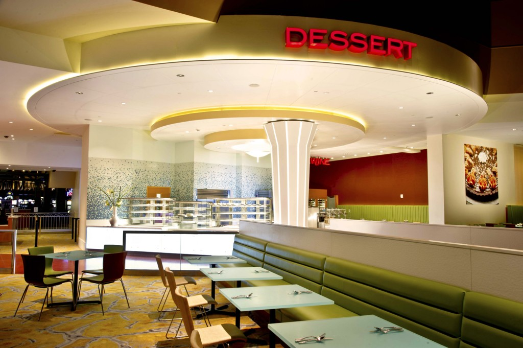 Dessert Station - Seneca Niagara Casino Renovations by SOSH Architects