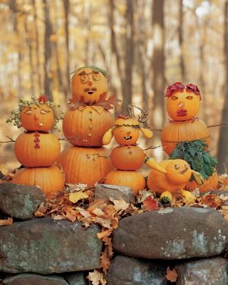 Gourd Family - How to Decorate your Outdoor Areas for Halloween