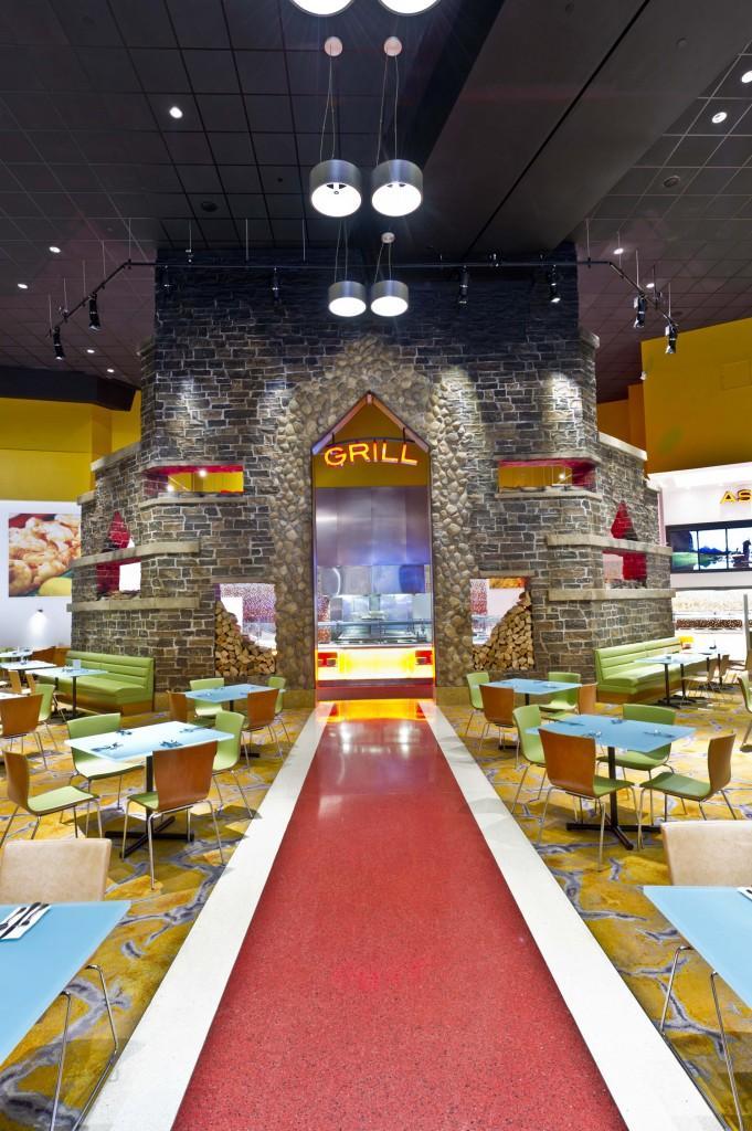 Grill Station - Seneca Niagara Casino Renovations by SOSH Architects