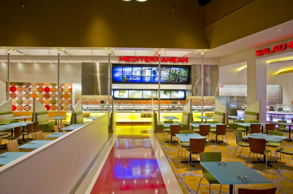 Mediterranean Station - Seneca Niagara Casino Renovations by SOSH Architects