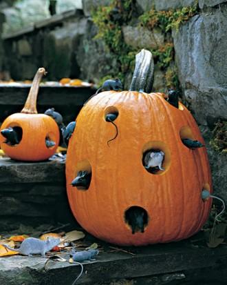 Mouse Motel - How to Decorate your Outdoor Areas for Halloween
