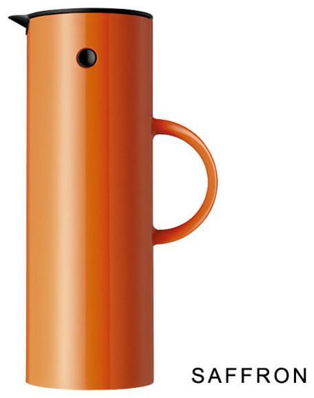 Stelton Vacuum Jug - Inspiring Autumn Decorating Ideas in Cute Orange Colors