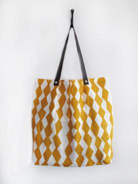 Trapp Simple Tote, Mustard - Inspiring Autumn Decorating Ideas in Cute Orange Colors