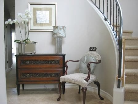 Antique And Modern Furniture Together