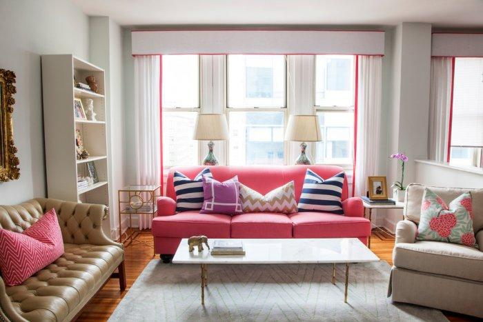 Contemporary Philadelphia home with pink splashes - The Best Homes for 2013