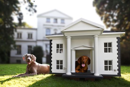 Creative dog house looking like a mansion - 20 Totally Extravagant Fantasy Home Furniture Pieces