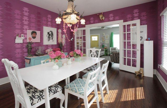 Creative interior design with vivid hues - The Best Homes for 2013