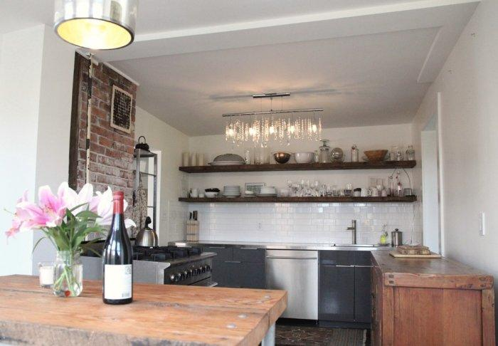 eclectic apartments with vintage and rustic touch founterior